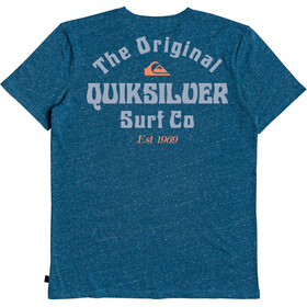 Quiksilver Energy Project SS Tee Men majolica blue heather
